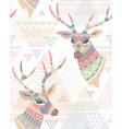 deers pattern vector image vector image