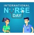 for International Nurse Day vector image vector image