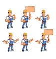 Handyman Mascot vector image vector image