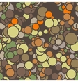 seamless pattern of colored circles with vector image vector image