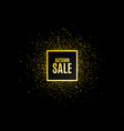 autumn sale special offer price sign vector image