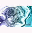 motion liquid splash background fluid decoration vector image