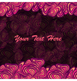 pink purple frame background vector image vector image