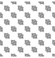 chemical cube pattern seamless vector image