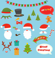 Christmas Prop Set vector image