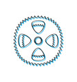 gear of a bike vector image