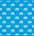 hockey gate pattern seamless blue vector image vector image