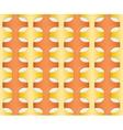 Orange - yellow seamless pattern vector image