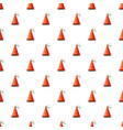 party hat pattern vector image vector image
