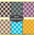 square dashed pattern vector image vector image