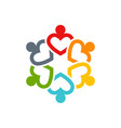 teamwork icon isolated for web logo design vector image vector image