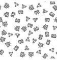 toys clockwork machine drum seamless pattern vector image