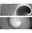 3d halftone vector image