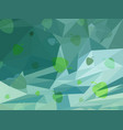 abstract green background of spring vector image vector image