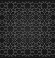 arabesque pattern floral background design vector image