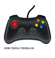 game console controller vector image