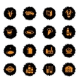 Milk industry icons set vector image