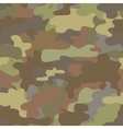 seamless camouflage military pattern brown vector image vector image