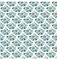 Seamless colorful river fish scales vector image vector image