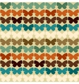 Seamless pattern with butterflies in retro style