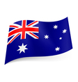 State flag of Australia vector image
