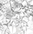 Abstract crumpled paper vector image vector image