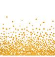 abstract pattern of random falling stars vector image vector image