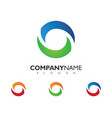 business corporate logo template vector image vector image