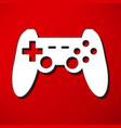 game joypad icon vector image