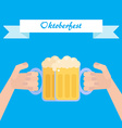 Octoberfest poster vector image