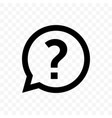 Question mark faq dialog chat bubble circle icon
