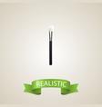 realistic face paint element vector image vector image