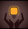 save energy concept symbol vector image
