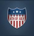 fourth of july celebration banner vector image