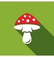 Amanita icon vector image