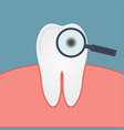 decay tooth vector image