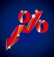 growth symbol vector image