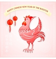Happy Chinese New Year 2017 vector image vector image