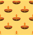 happy diwali festival seamless pattern vector image