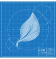 leaf icon Eps10 vector image vector image