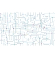 Network seamless background vector image