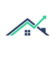 real estate marketing vector image