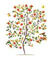 sapling flower vector image