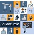 scientists icon set