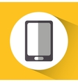 Smartphone device gadget design vector image vector image