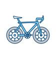 isolatedcute bicyle vector image