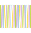 Background with colorful stripes vector image