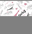 art word seamless pattern fashion background used vector image