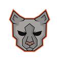 Cat professional logo vector image