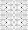 seamless pattern design Modern stylish texture vector image